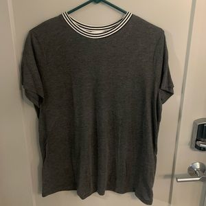 Old Navy Tee with Accent Collar